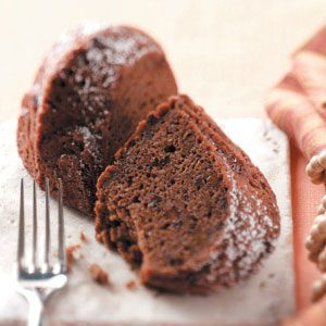 Makeover Spiced Cocoa-Apple Cake