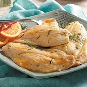 Citrus Baked Fish