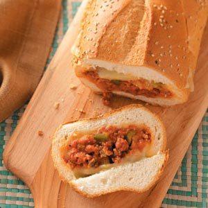 Hearty Sausage Stromboli