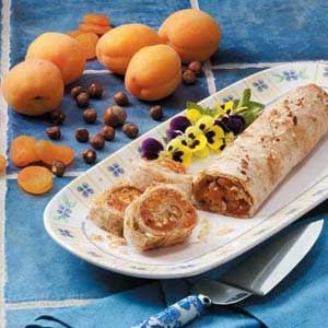 Hazelnut Apricot Strudel