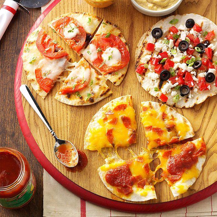 Appetizer Pizzas