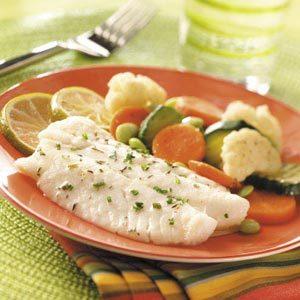 Vegetable Fish Dinner