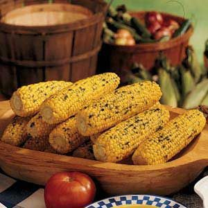 Herb-Buttered Corn