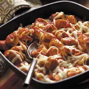 Chicken Tortellini Skillet