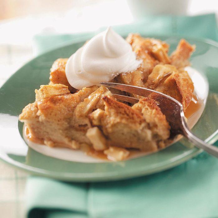 Caramel Apple Bread Pudding