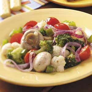 Italian Grilled Veggies