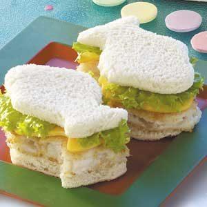 Fun Fish Sandwiches