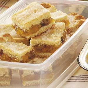 Apricot Pastry Bars