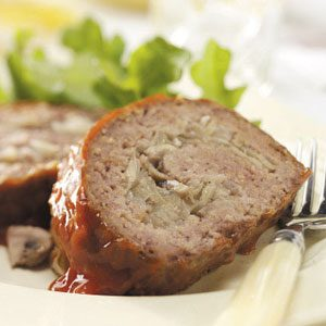 Grilled Stuffed Meat Loaf