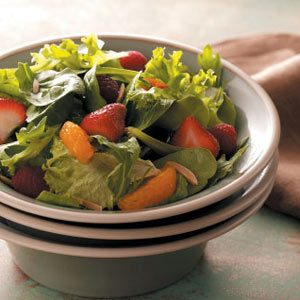 Spring Greens with Berries
