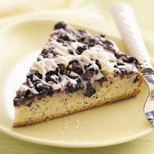 Blueberry-Poppy Seed Brunch Cake