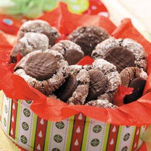 Mint-Topped Chocolate Cookies