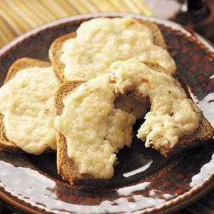 Mozzarella Rye Snacks