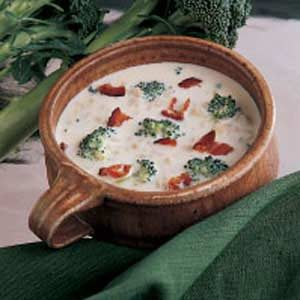 Barley Broccoli Soup