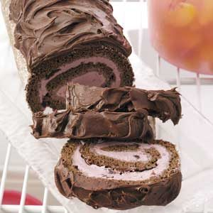 Chocolate Cherry Lincoln Log