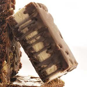 Candy Bar Ice Cream Sandwiches