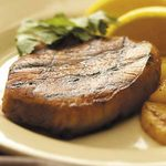 Grilled Pork Chops with Pineapple