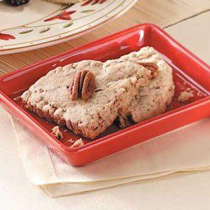 Pecan Cinnamon Shortbread
