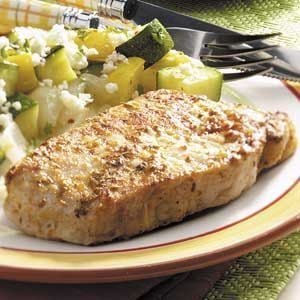 Herbed Beer Pork Chops