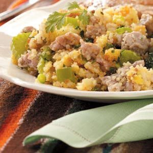 Calico Cornbread Dressing