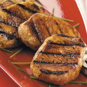 Honey-Soy Pork Chops