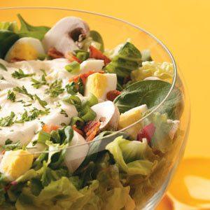 Layered Ranch Salad