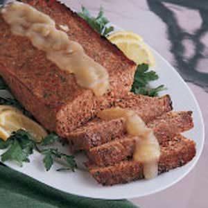 Ham Loaf with Golden Sauce