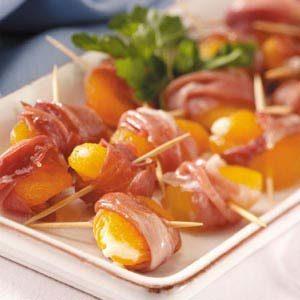 Prosciutto-Wrapped Apricots