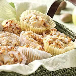 Glazed Cinnamon Apple Muffins