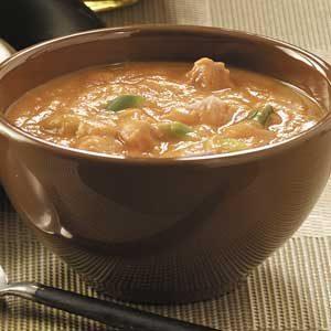Creamy Curried Pumpkin Soup