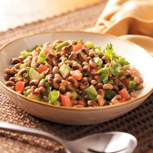 Black-Eyed Pea Salad with Avocado and Jalapeno