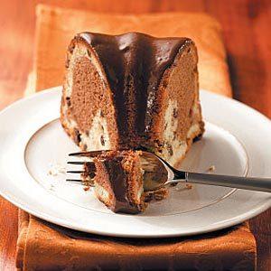 Triple Chocolate Bundt Cake