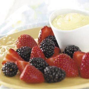 Simple Lemon Fruit Dip