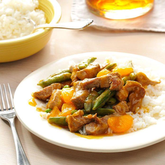 Mandarin Pork Stir-Fry