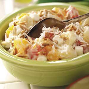 Creamy Tropical Fruit Salad