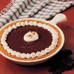 Upstate Chocolate Peanut Butter Pie