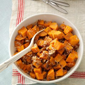 Coconut-Pecan Sweet Potatoes