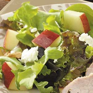 Apple and Goat Cheese Salad
