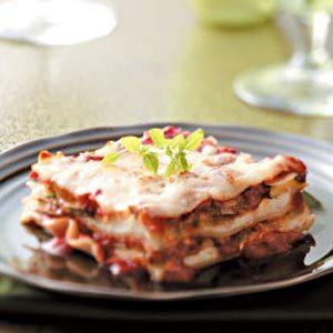 Meatless Zucchini Lasagna