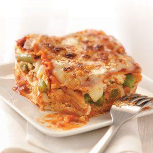 Cheesy Veggie Lasagna