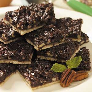 Chocolate Pecan Bars
