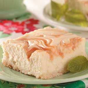 Caramel-Swirl Cheesecake Dessert