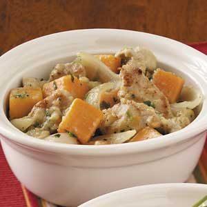 Pork and Sweet Potato Stew