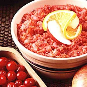 Quick Cran-Apple Relish