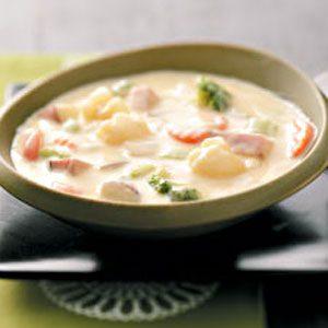 Veggie Cheese Soup