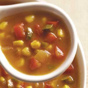 Pumpkin Corn Soup