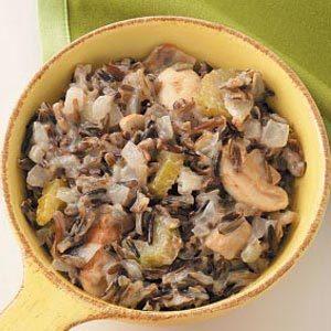 Wild Rice Mushroom Casserole