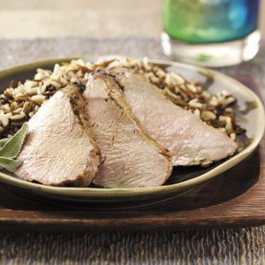 Herb Grilled Pork Tenderloin
