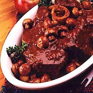Dutch Oven Bavarian Pot Roast