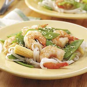 Vegetable Shrimp Stir-Fry